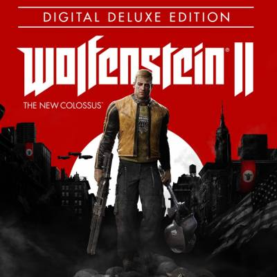 Аренда и прокат Wolfenstein II: The New Colossus Deluxe Edition (Все DLC) для PS4
